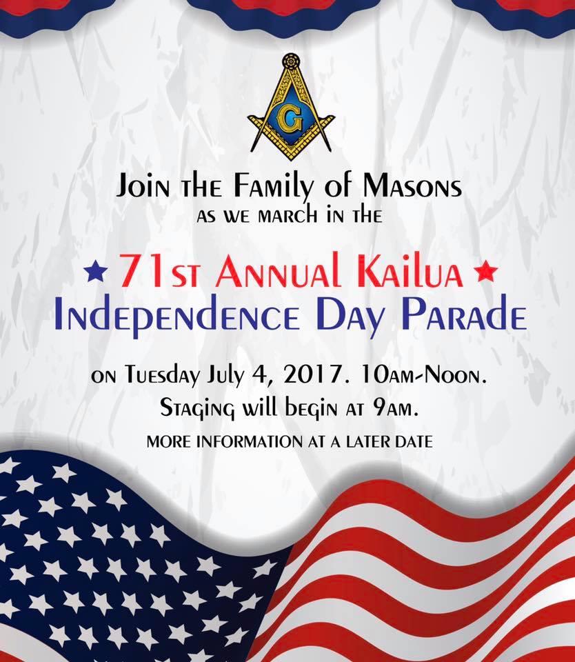 July 4 Kailua Parade 2017