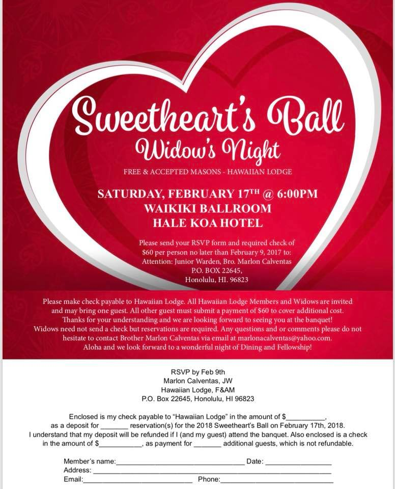 2018 Sweetheart's Ball