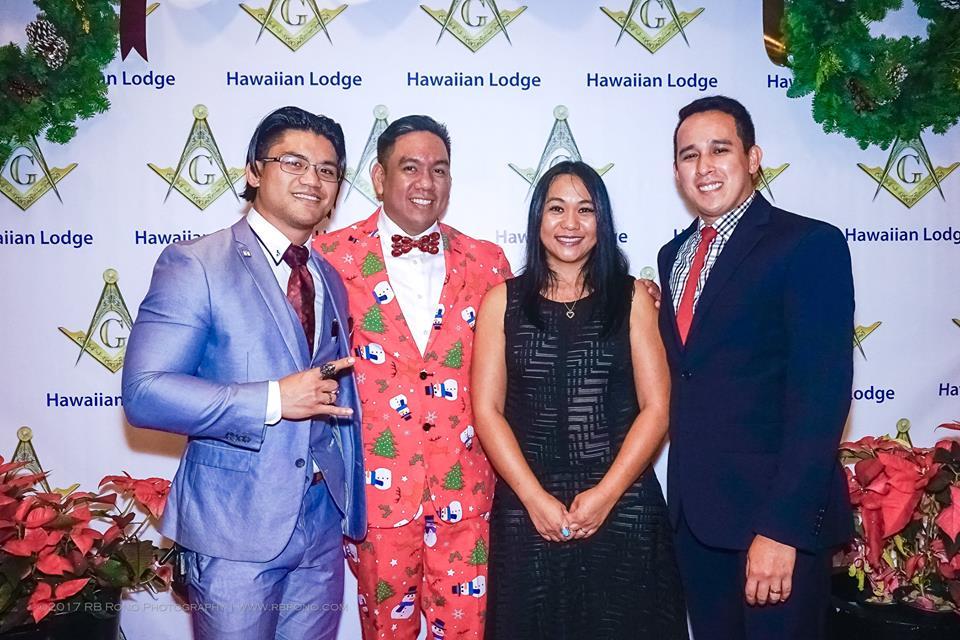 Christmas In Hawaii Party.Hawaiian Lodge F Am Hawaii Freemasonry 2018 Annual