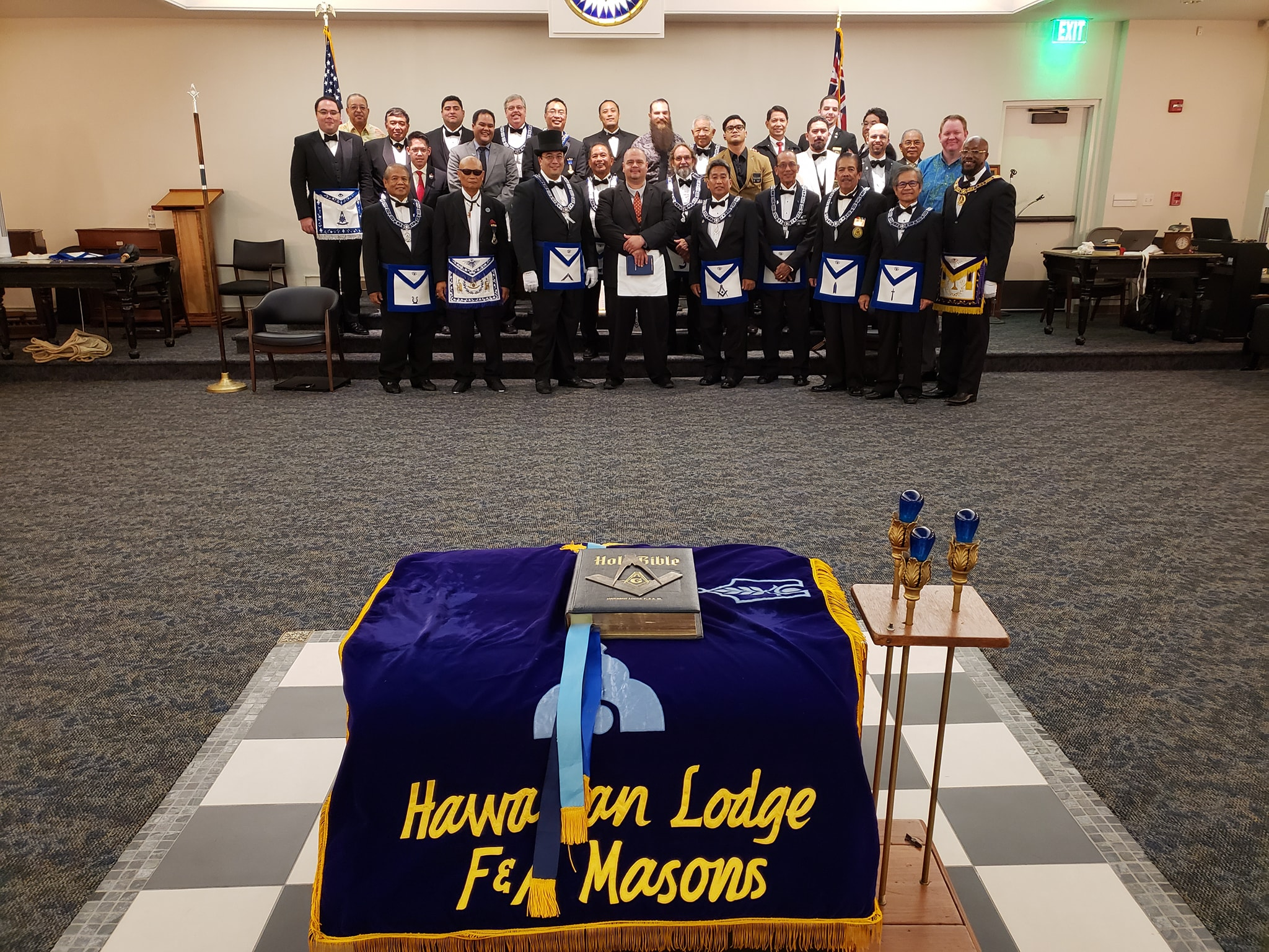 Hawaiian Lodge | F&AM – Hawaii Freemasonry – 3rd Degree